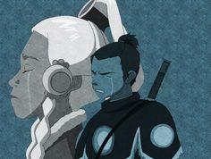 Sokka & Yue ( Tearbending )