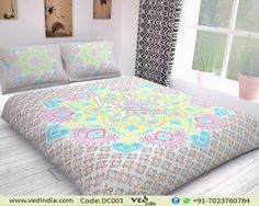 """New Launched"" Indian Mandala Reversible Duvet Cover Queen Size Blanket Quilt Cover Bedspread Bedding Comforter Cover Handmade Duvet Covers, Modern Duvet Covers, Bohemian Bedding Sets, Boho Bedding, Comforter Cover, Duvet Cover Sets, Queen Size Blanket, Mandala Duvet Cover, Quilt Cover"
