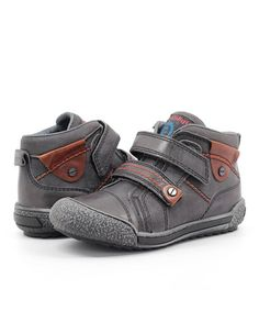 Take a look at this Gray Hi-Top Sneaker by Froddo on #zulily today!