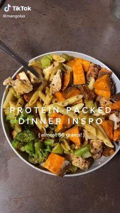 Easy Healthy Meal Prep, Healthy Dinner Recipes, Healthy Snacks, Easy Meals, Healthy Eating, Cooking Recipes, Plats Healthy, Health Dinner, Food Dishes