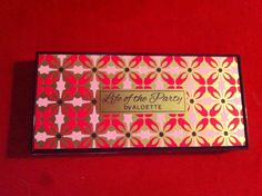 Now available! Our spring pallet that inspired it all!!  Life of the Party by Beauty by Aloette