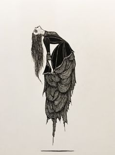 These Terrible Times - Vanessa Ives Fine art print by Hogan McLaughlin #art #drawing #pennydreadful