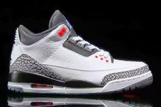 "2014 Air Jordan 3 ""Infrared 23″ Retro III Sneaker (Detailed Images + Release Date)"