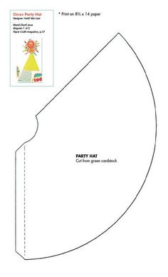 This template was too small even for a toddler and had an opening at the  top  Ended up having to make my own template in the end Free Party Hat Template   Click To Download   Party ideas  . Diy Party Hats Template. Home Design Ideas