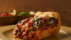 Chicago Deep-Dish Sausage Pizza