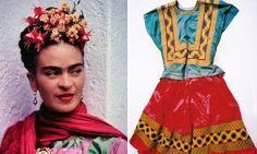 After her death in 1954, Frida Kahlo's husband locked away her belongings in a bathroom. This makeshift Frida Kahlo closet remained sealed until 2004.