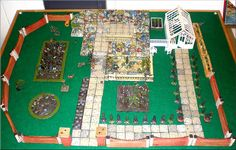 Fantastic toy garden with tiny plastic plants that you stuck in holes to make borders.  Complete with its very own crazy paving....I spent hours playing with mine and would become very annoyed when my brothers' armies were trundled across my lawns