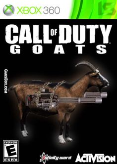 Call of Duty meets Goat Simulator... what the heck?