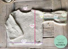 ¿Te atreves a tejer un jersey en punto arroz? | SANTA PAZIENZIA Creative Knitting, Crochet Winter, Pullover, Cool Sweaters, Diy Crochet, Crochet Clothes, Knitting Projects, Mantel, Knitting Patterns