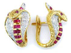 Gemstone Clip-On 14K Yellow Gold Snake Ruby Earrings [E_1... https://www.amazon.com/dp/B00CKIDFE8/ref=cm_sw_r_pi_dp_oJ1Bxb7FMVQFP