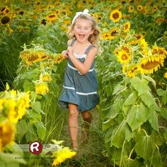 You have to run through a sunflower field! That's a childhood requirement. Ryan David Jackson Photography located in Fayetteville, NC. www.ryandavidjackson.com #onlocationportraits #outdoorportraits #ncportraits #northcarolina #photography #photographer #ncchildportraits #bestphotographer #fayettevillephotography #affordablephotography