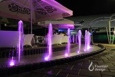 Bar fountain Fountain Design, Portfolio Design, Exterior, Bar, Interiors, Outdoor Spaces