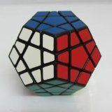 Shengshou Megaminx Speed Cube Puzzle, Black, 2015 Amazon Top Rated Puzzles #Toy