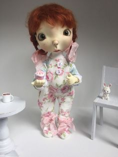 Shabby And Chic Jammies For Connie Lowe Sprocket Oops Bjd Yosd So Sweet!! in Dolls & Bears | eBay