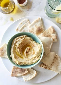 This quick easy vegan hummus dip recipe takes less than 10 minutes to make and is absolutely delicious!