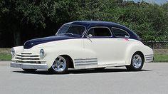 1947 Chevrolet FLEETLINE AERO SEDAN FULL CUSTOM SHOW CAR $1 START NO RESERVE ABSOLUTE AUCTION CHEVROLET FLEETLINE AERO SEDAN NSRA GOODGUY