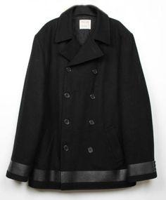 Helmut-Lang-men-jacket-pea-coat-Size-50-EU