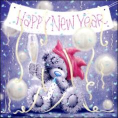 ♥ Tatty Teddy's **Happy New Year** ♥ Teddy Images, Teddy Pictures, Cute Images, Cute Pictures, Tatty Teddy, Christmas And New Year, Vintage Christmas, Christmas Cards, New Year Wishes