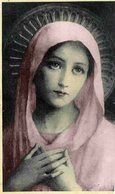 Mother Mary (mother of Jesus), Saint Mary or Blessed Virgin Mary, Mother of God, and Virgin Mary in Western churches. Religious Images, Religious Icons, Religious Art, Tattoo Maria, St Gemma Galgani, Queen Of Heaven, Blessed Mother Mary, Divine Mother, Jesus Mother