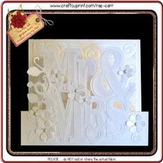 050 Mr & Mrs Step Card