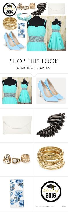 """""""class of 2016 #3"""" by jkat598 on Polyvore featuring JustFab, Style & Co., Roberto Cavalli, ABS by Allen Schwartz, Sonix and Full Tilt"""