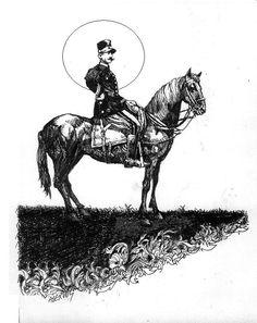 officer on horse