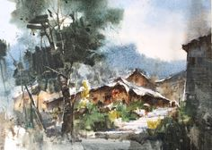 Jasmine Huang,  in the mountains of guizhou