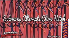 Solomons Alternate Clove Hitch und Tutorial | Swiss Paracord