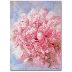 Trademark Fine Art Pink Peonie I Canvas Art by Li Bo, Size: 24 x 32, Multicolor