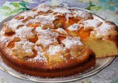 Абрикосовый пирог на скорую руку