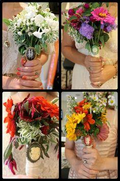 True wild flower bouquets.