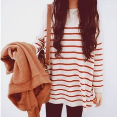loose sweater dress