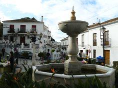 Mijas Spain, Drupal, Sea Level, Travel Information, Plaza, Travel Photos, Countries, Fountain, Travel Destinations