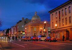 M Street in Georgetown.