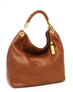 Michael Kors Skorpios Large Shoulder Bag, Cinnamon - Neiman Marcus