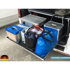 Neu! Der Heckauszug für den T5 und T6 California Beach mit Dreierbank California Camping, T6 California Beach, Vw T4, Volkswagen Transporter, Van Bed, Vw Caravelle, T5 Camper, Rear Seat, Van Life