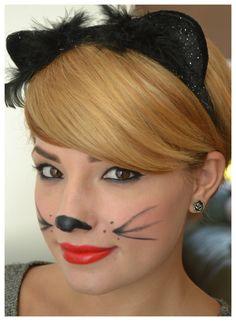 Halloween Make-up und Kostüm Circus Halloween Costumes, Cat Halloween Makeup, Mom Costumes, Masquerade Costumes, Cat Eye Makeup, Halloween Make Up, Halloween Ideas, Costume Ideas, Special Effects Makeup