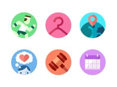 Category Icons by Andrew Power for Fueled