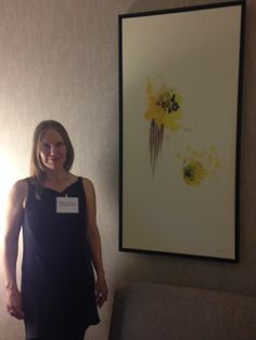 Artist Heather Goodwind at the Residence Inn Pearle District Portland