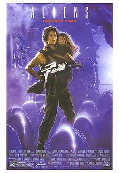 Aliens belongs to that movie category where the sequel is as good or even better than the first movie. The DVD version has a deleted background story about Ripleys daughter which explains her commitment to 'newt'.