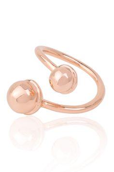 Alma Frieda Rosé vergoldeter Ring ID #3. www.styleserver.de