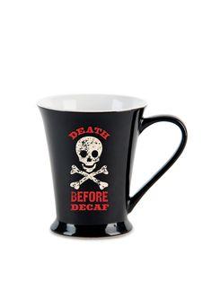 Death Before Decaf - Mug by JKC at Gilt
