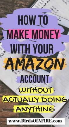 This is the hack to make money from your Amazon account. It's not often talked about, so I wrote a blog post about it. It's kind of awesome. #makemoney #makemoneyfromamazon #amazondata #savemoney #debtfree