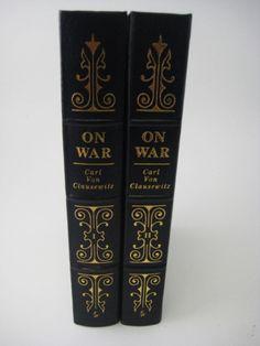 EASTON PRESS 1st/1st Edition ON WAR Carl Von Clausewitz SET 2V Classic MILITARY Carl Von Clausewitz, Easton Press, Military, War, Classic, Books, Derby, Libros, Book