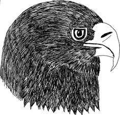 A beautiful original bird drawing of a Golden by ForTheBirdzShop