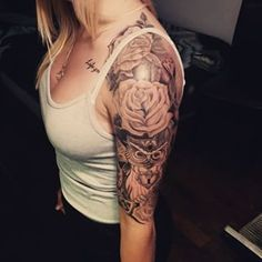 girl arm tattoos - Google Search