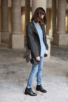 A special shoutout to Marie with the .Kate Lee COLYNE style in grey in this picture !  @intoyourcloset #katelee #design