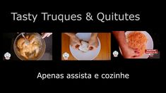 Tasty Truques & Quitutes - Vídeo Institucional Good Food, Yummy Food, Tasty, Best Food Ever, My Recipes, Carving, Make It Yourself, Amazing, Cooking Recipes