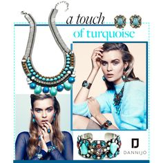 Dannijo Spring Collection Trend: Turquoise Gems, created by dannijo on Polyvore