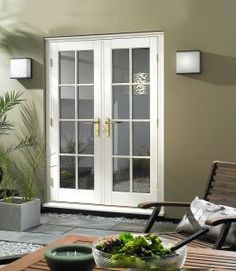 French exterior country french and old world on pinterest for French doors both open